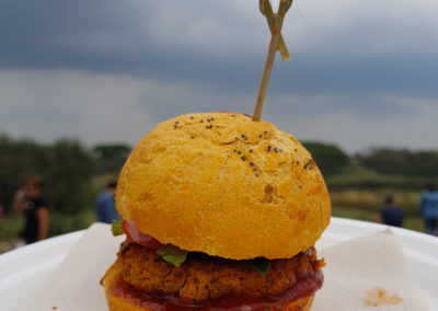 "Fabrizio-Verga-per-Flower-Burger ""Spicy-cecio"""