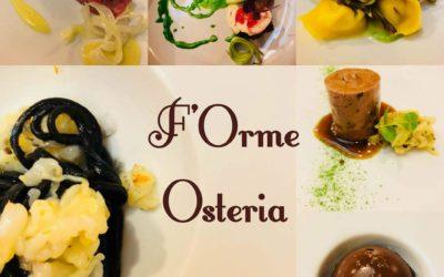 F'Orme Osteria, il nuovo ristorante del noto chef Alberto Mereu a Frascati