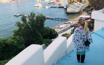 Le avventure della Polpetta per un week end a Ponza