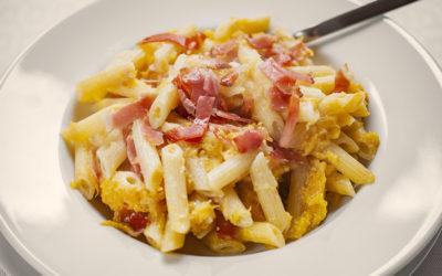 La ricetta di Ilaria Barisi – Pasta con la zucca e lo speck