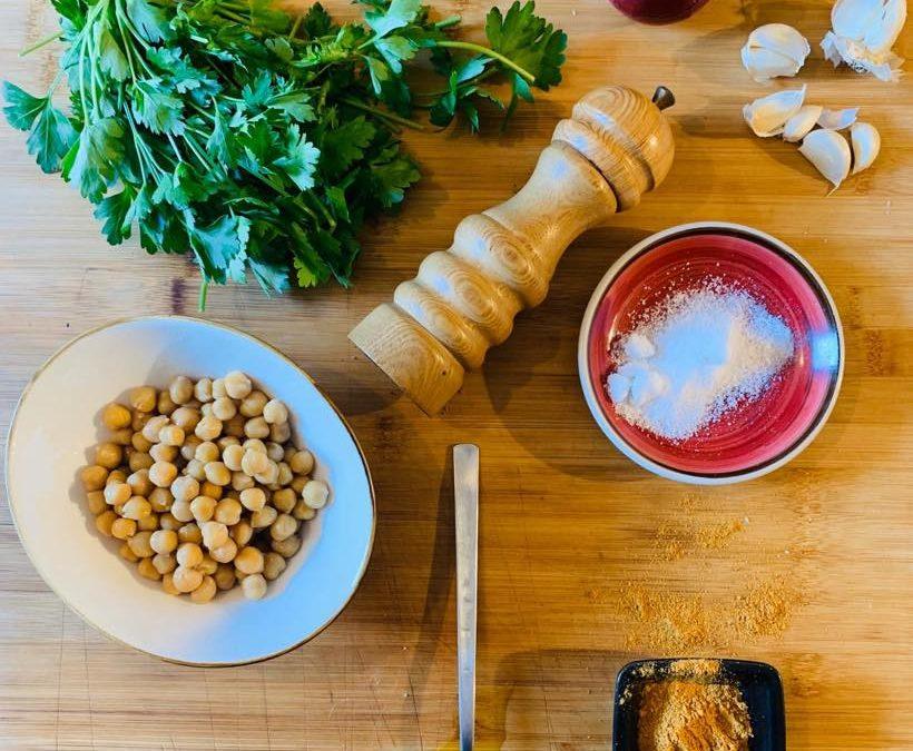 Due ricette Low Budget, Tortillas con Falafel a modo nostro