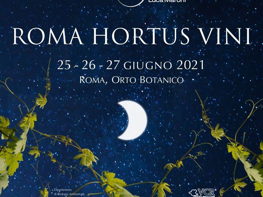 Roma Hortus Vini torna a splendere sotto il cielo stellato di Roma